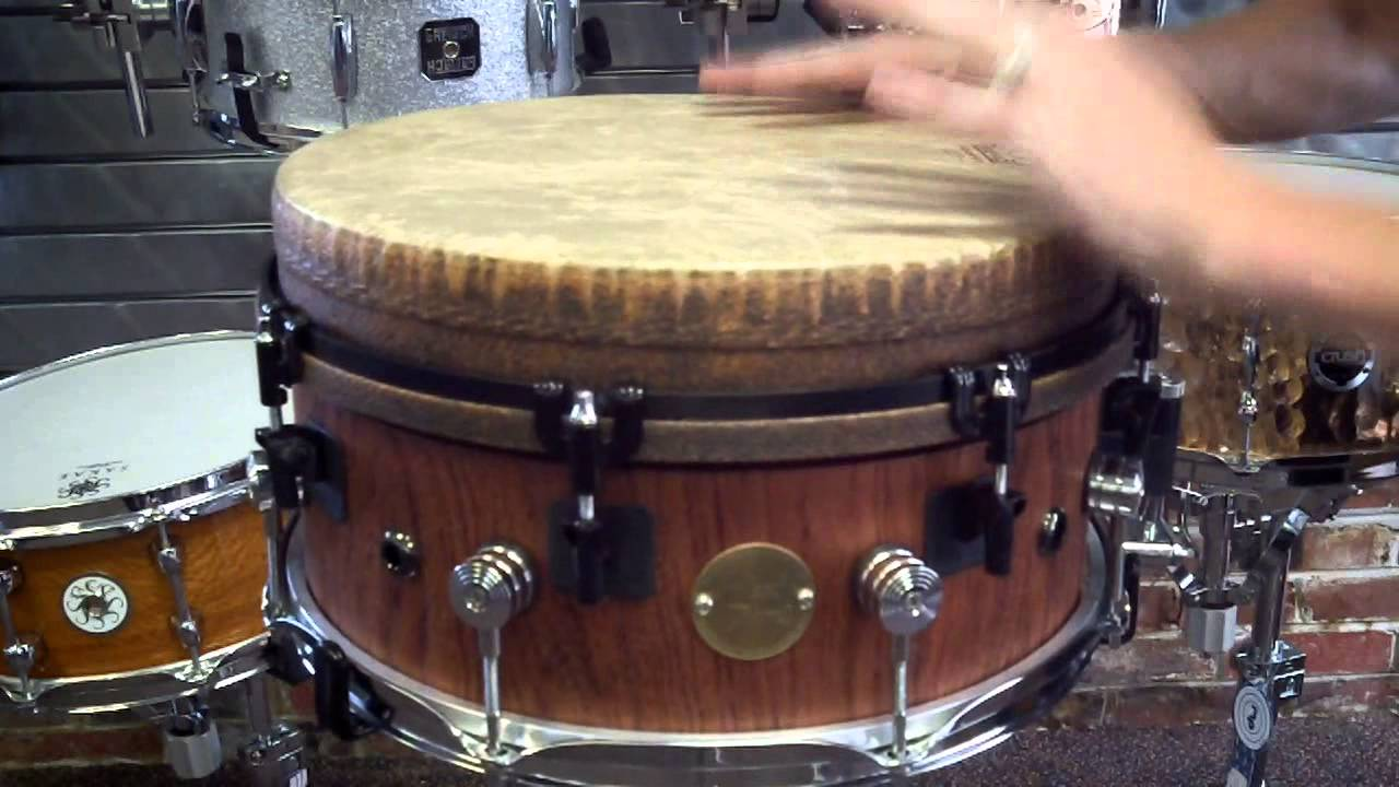 holland drums 8x14 muffin top snare drum remo mondo head hand drum demo youtube. Black Bedroom Furniture Sets. Home Design Ideas