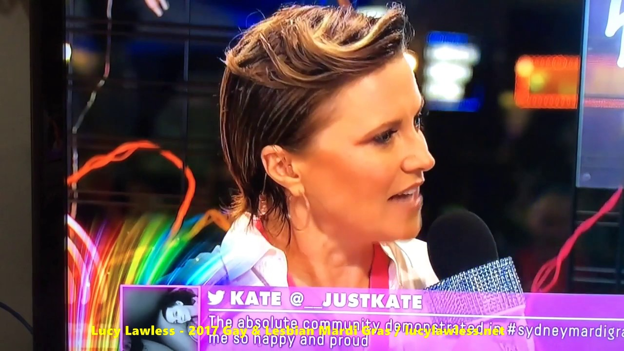 Lucy Lawless Interview 2017 Sydney Gay and Lesbian Mardi ...
