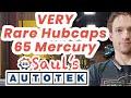 Rare hubcaps on 1965 Mercury Monterey Marauder