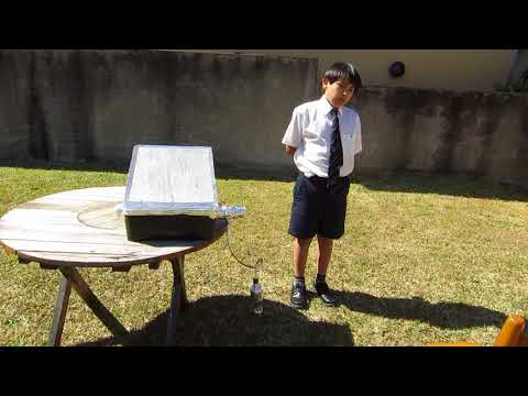 Terry's Solar Powered Water Purifier