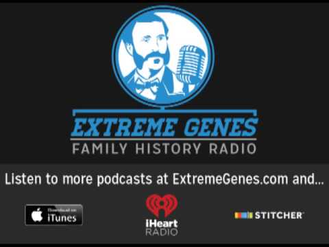 Extreme Genes Family History Radio: Ep. 102 - Jamestown- AND