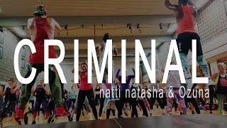 Natti Natasha & Ozuna - Criminal. Reggaeton Zumba®  Choreo. Latin Dance Routine