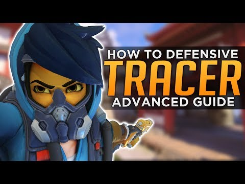 Overwatch: Tracer On DEFENSE - Advanced Guide