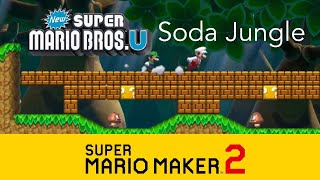 Super Mario Maker 2- Jungle of the Giants Remake (NSMBU)