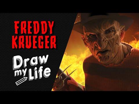 FREDDY KRUEGER - NIGHTMARE 🔪 DRAW MY LIFE