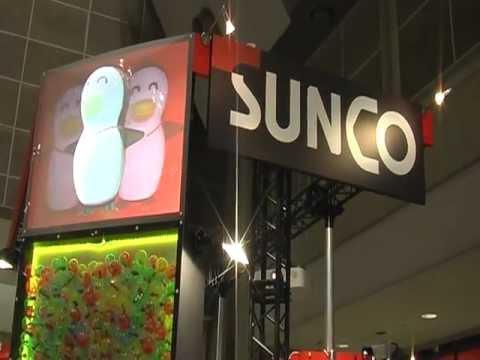 20120620サンコーインダストリー様機械要素技術展 Rear Projection 3D Screen