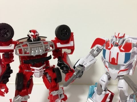 Comparison!!  DotM Rescue Ratchet *and* TFPrime Ratchet!