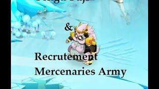 [Dofus] Fuji Givrefoux & Recrutement au sein de Mercenaries Army