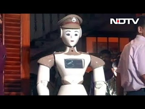 Kerala Police Has A New Recruit: A Robot