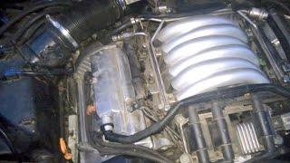 Работа двигателя Ауди А6 С5 после замены ремня ГРМ, роликов, прокладок, помпы