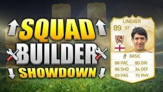 FIFA 15 SQUAD BUILDER SHOWDOWN!!! LEGEND GARY LINEKER!!! Everton Legend Squad Builder Duel