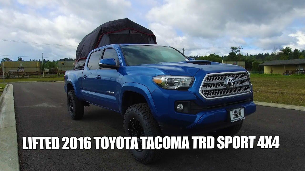 Toyota Tacoma Lifted >> Lifted 2016 Toyota Tacoma TRD 4x4 - YouTube