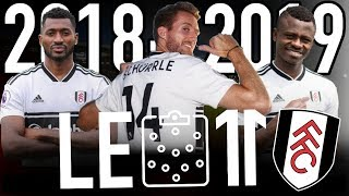 ⚫️⚪️ LE 11 INCROYABLE DE FULHAM VERSION 2018-2019 | Schürrle, Seri, Anguissa, Sessegnon, etc