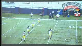 Michigan Football Series: Safeties Technique & Tackling System
