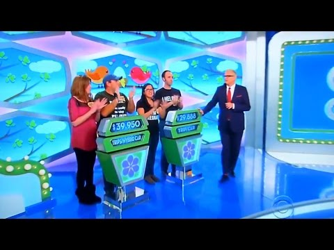 The Price is Right - Showcase Results - 4/21/2017