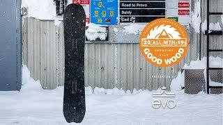 Jones Ultra Mountain Twin Review: Men's All-Mountain Winner – Good Wood Snowboard Test 2018-2019