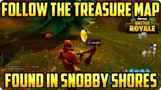Fortnite Battle Royale: Follow The Treasure Map Found In Snobby Shores - Week 3 Challenges
