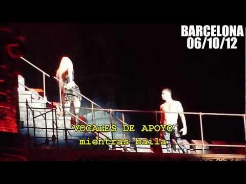 Lady Gaga vomita en Barcelona NO HACE PLAYBACK