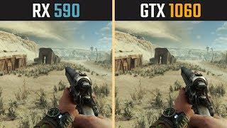 GTX 1060 vs. RX 590 (Test in 10 Games)