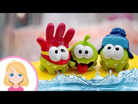 Ам Ням в аквапарке - Маленькая Вера - Весёлые развлечения и игрушки для детей малышей