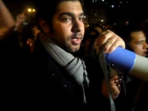 Waleed Rashed - April 6 Movement in tahrir sq