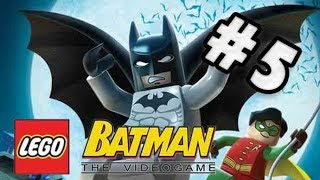 Let's Play LEGO Batman: The Videogame - Story - Part #5 – Mission 1-5 - The Face-Off