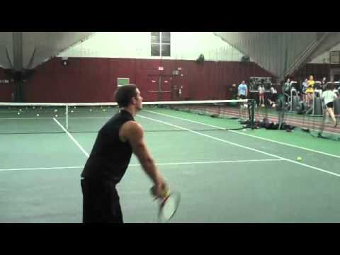 TJ Moor tennis