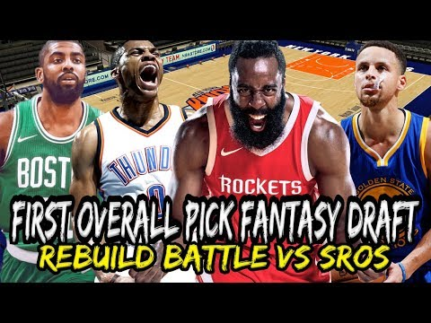 #1 OVERALL DRAFT PICK! NBA REBUILD BATTLE FANTASY DRAFT VS SIXRINGSOFSTEEL