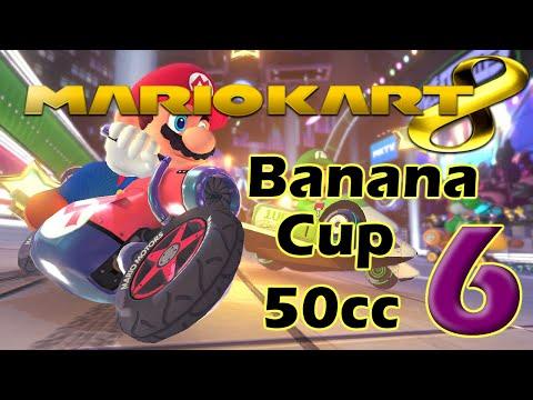 Mario Kart 8 Walkthrough Part 6 - 50cc Banana Cup (No Commentary)