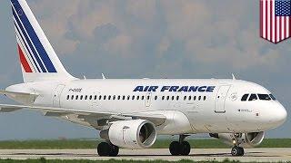 Два самолёта Air France изменили маршрут из-за угроз взрыва