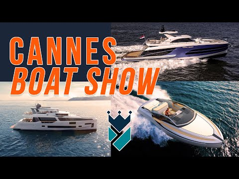 WALK THROUGH THE CANNES YACHT SHOW WITH ME!