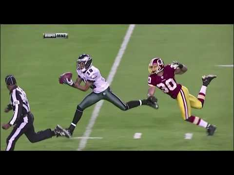 Every single bomb from Mike Vick to DeSean Jackson..