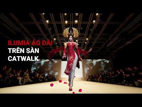 [Trailer] Ilumia Thiên Nữ Áo Dài Sải Bước Catwalk Trên đường Giữa - Garena Liên Quân Mobile