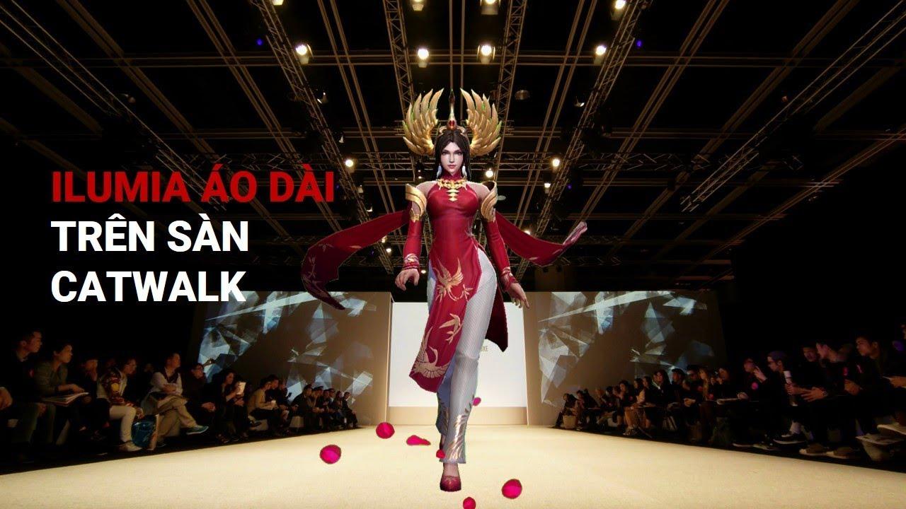 [Trailer] Ilumia Thiên Nữ Áo Dài sải bước catwalk trên đường giữa – Garena Liên Quân Mobile