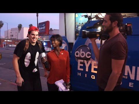 LIVE TELEVISION PRANK!! (Hilarious)