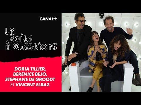 La Boîte à Questions Doria Tillier  Bérénice Béjo  Vincent Elbaz  Stéphane De Groodt – 10102018