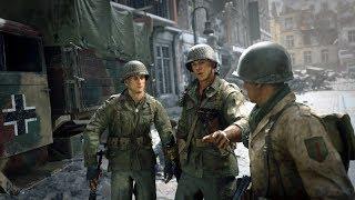 Call of Duty WWII на максимальных. 60 fps. Прохождение #3 + CS GO в конце