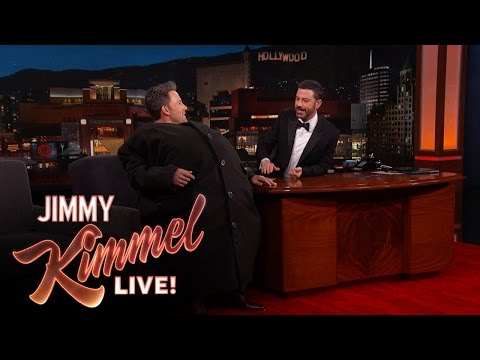 Ben Affleck sneaks Matt Damon into Jimmy Kimmel's show