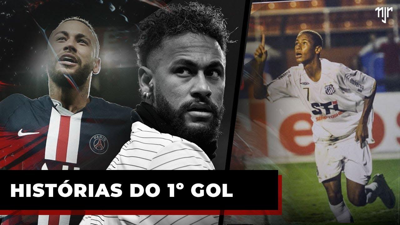 Quem Neymar Jr homenageou no primeiro gol?