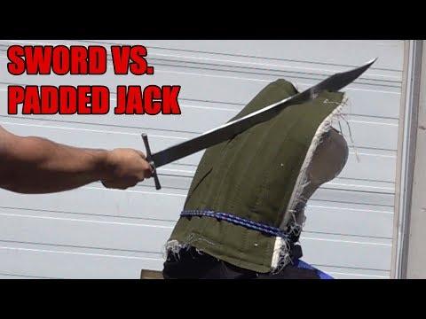 Fabric Armor Tested - AKA: Why Dull Swords Fail