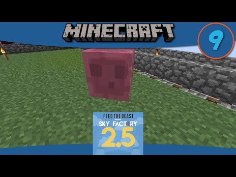 Minecraft Mods: Making a Tinker's Cleaver and Crossbow + Pink Slime Fail in SkyFactory 2.5 - E9