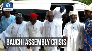 Reps Committee Meets With Bauchi Assembly Staff