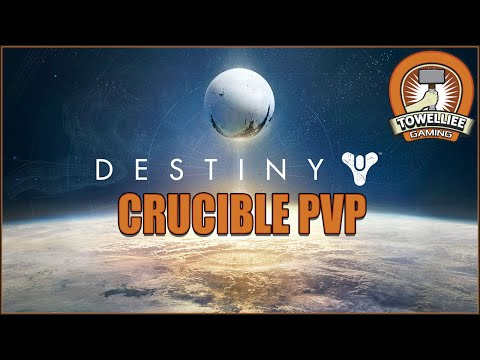 Destiny Titan PvP Crucible Control Maps