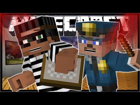 Minecraft HEIST | ART ROBBERY! | (Minecraft Roleplay) [Day 1]