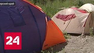 В Красноярске обманутые дольщики ждут заветного жилья в палатках