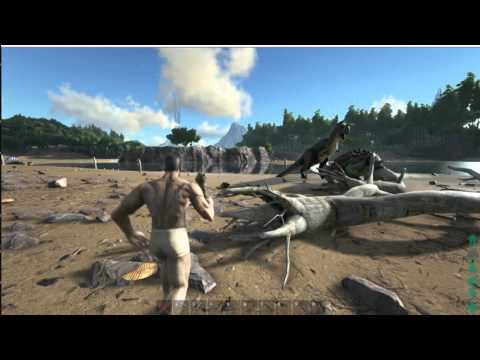 Let's Play Ark: Survival Evolved - Episode 5 - Third Person