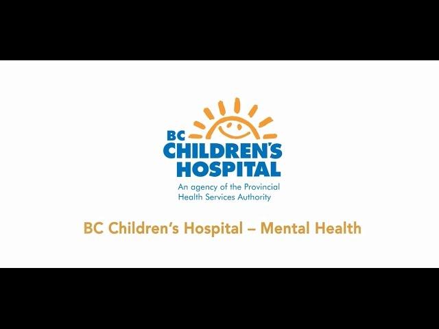 Imagine Your Dream Career Bc Children S Hospital Mental Health Youtube