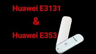 Обзор модемов Huawei E353 и Huawei E3131