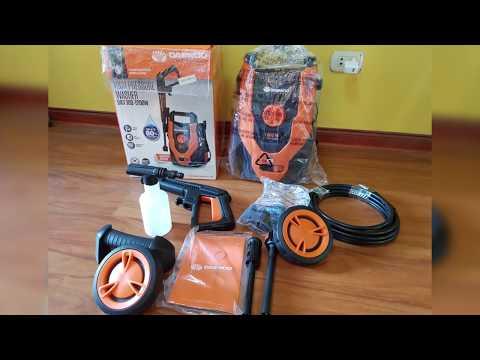HIDROLAVADORA DAEWOO DE ALTA PRESIÓN 1200W DAX100 thumbnail