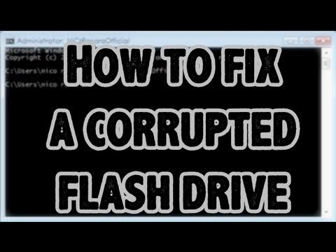 How-to Restore a Flash Thumb Drive That Is Corrupt